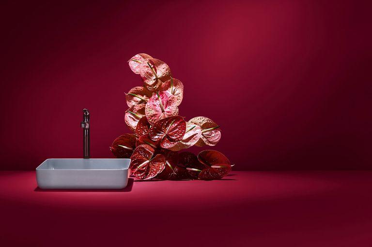 Lavabo Miena oystergrey